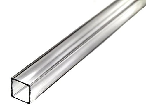 Square Extruded Acrylic Tube