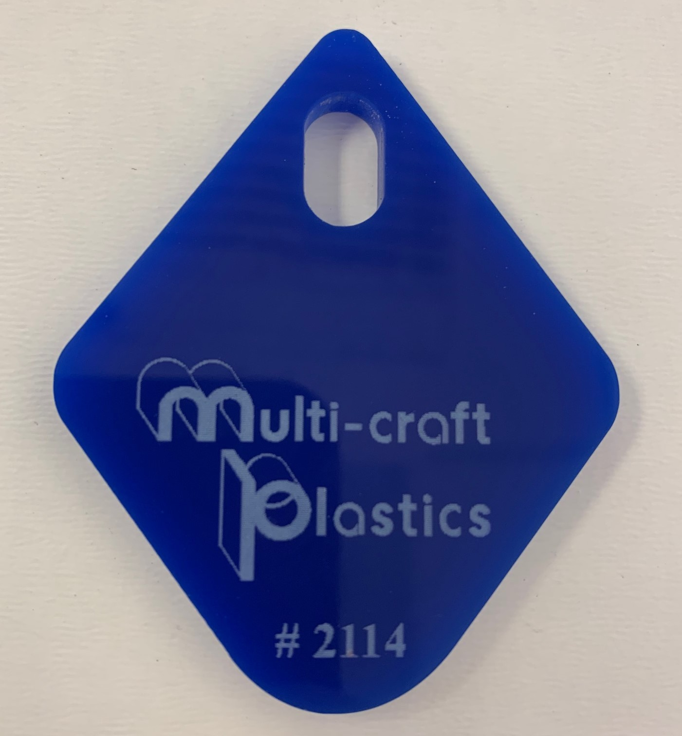 4.5mm 6x8FT BLUE CAST ACRYLIC #2114 - Colored Acrylic Sheet