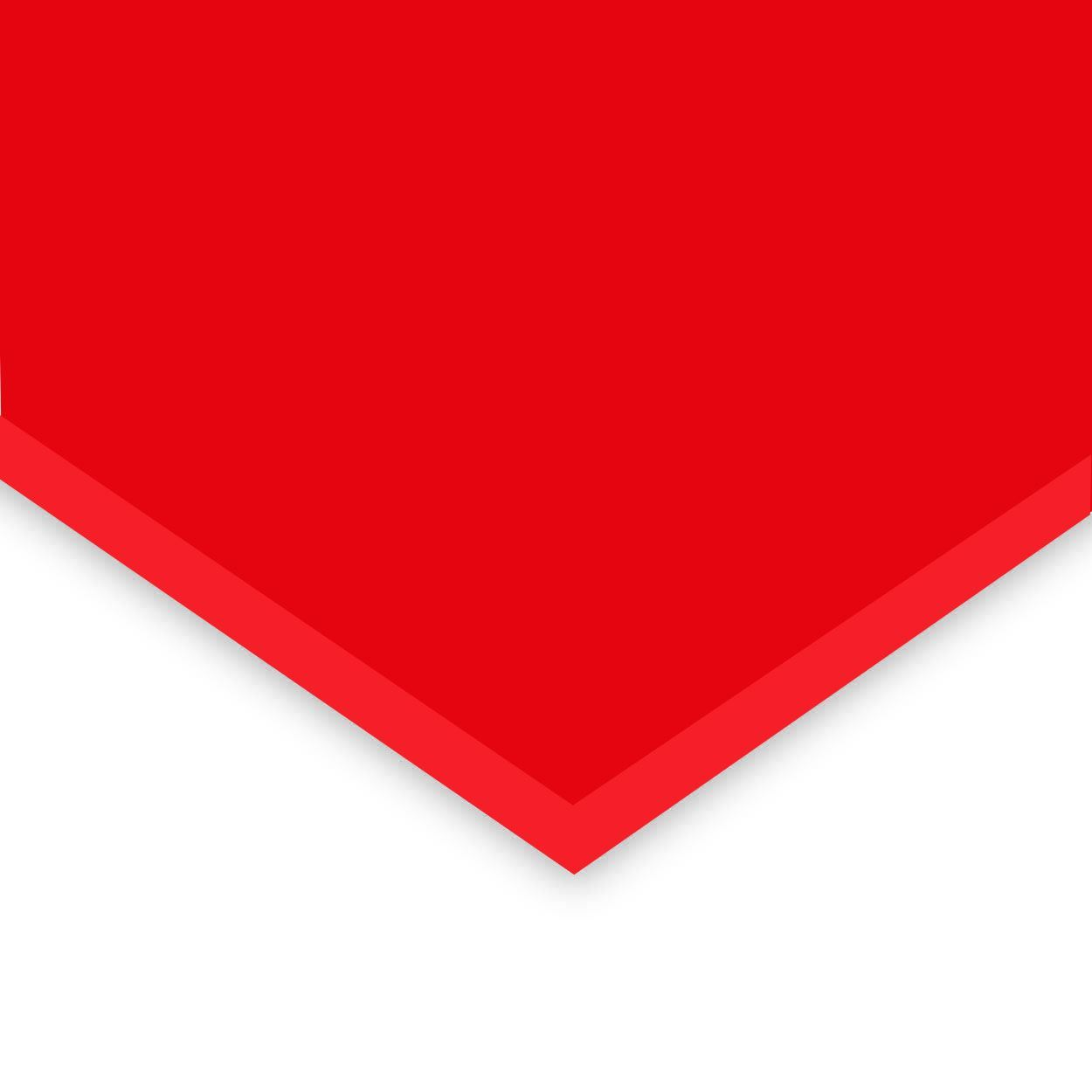 RED EXP PVC 3mm 4x8FT - Red Expanded PVC Sheets