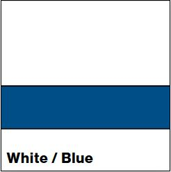 White/Blue LACQUER 1/16IN - Rowmark Lacquer