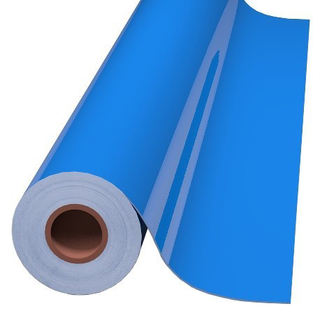 15IN GENTIAN BLUE 8300 TRANSPARENT CAL - Oracal 8300 Transparent Calendered PVC Film