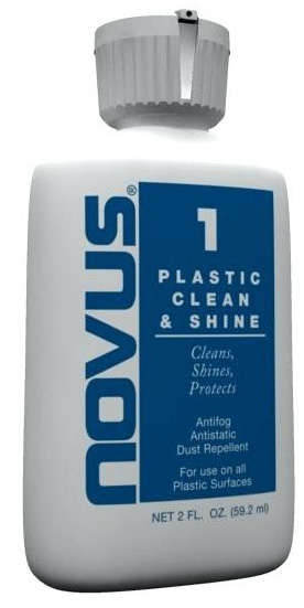 NOVUS Plastic Polish #1 - 2oz - Multi-Purpose Cleaners & Shine