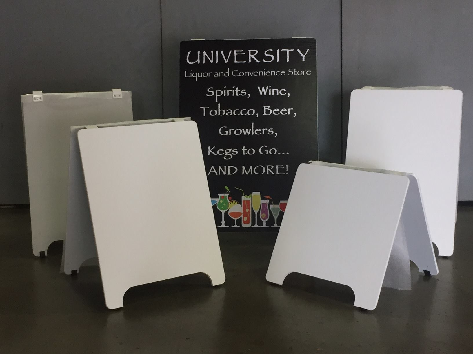 Wood A-Boards