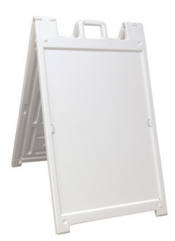 Signicade Deluxe - White - Plasticade Sign Frames