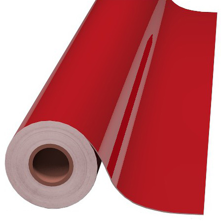 24IN HIGH GLOSS RED CALENDERED OPAQUE - HP700 High Performance Calendered Series Opaque