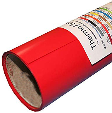 Specialty Materials ThermoFlexTURBO Red - Specialty Materials ThermoFlex Turbo Heat Transfer Film